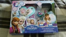 Frozen electronic secret diary