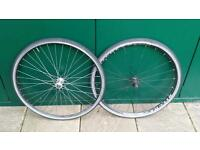 Ritchey DS road / hybrid wheelset wheels w/tyres