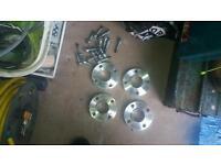 Xr3i 20mm wheel spacers 108x4 pcd