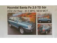 Hynudai Santa Fe TD