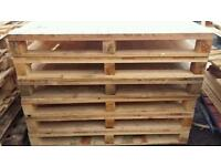 Close boarded pallets