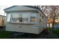 Deluxe caravan to hire