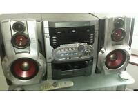 3 disk changer sound system