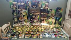 Large Star wars collection