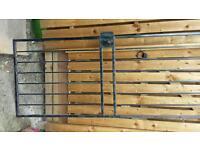 Security gate steel