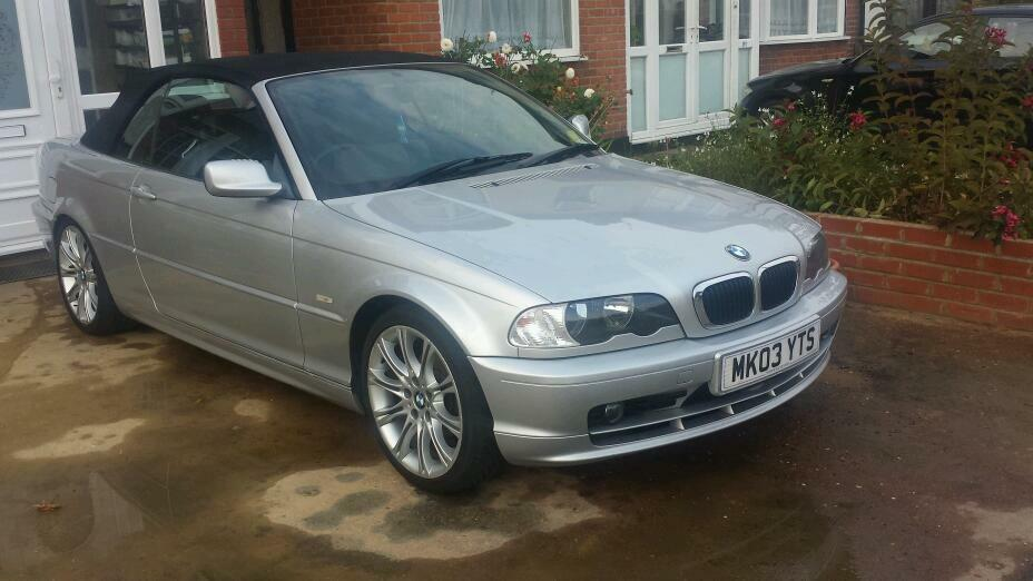 bmw 3 series convertible 1500 ono