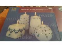 DMC beaded candle making kit