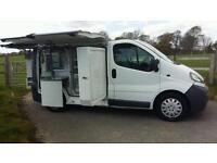 Vauxhall Vivaro, Sandwich Van, Catering Van, Coffee Van, Benjy Conversion