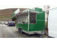 Catering trailer 14ft by 6ft