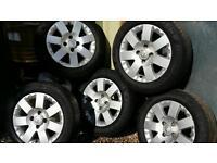 Citroen peugeot alloy wheels
