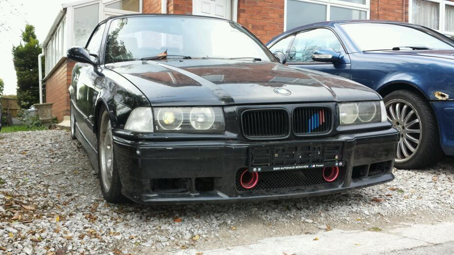 E36 BMW 325i Breaking