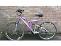 26 inch wheels ladies bike