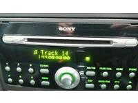 Sony 6 CD Car stereo