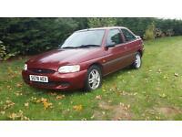 Ford escorts td 1998 manual turbo diesel genuine 1 owner 57k 12 months mot excellent car