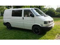 VW T4 Transporter. 2001 1.9 tdi. Matching leather front and back VW seats