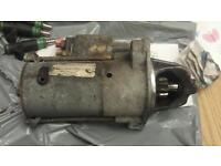 Starter motor from Ford focus 1.6 16v. May fit 1.25 & 1.4 petrol engines also.