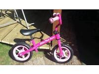 Chicco Pink Arrow child's Balance Bike