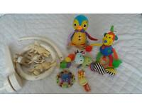 3 bundle of baby toys