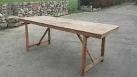 Foldable table / car boot / market stall table