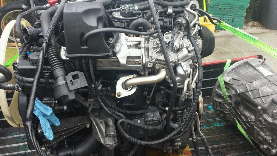 2010 Mercedes Sprinter Engine Twin Turbo Alt Gearbox