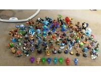 Joblot of 87 skylanders and accessories