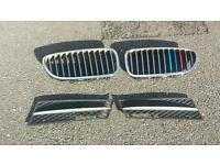 Bmw 5 series front grill and bumper grill