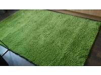 Lime green rug