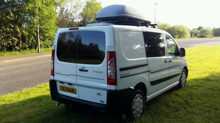 Fiat Scudo Camper In Ballymena County Antrim Gumtree