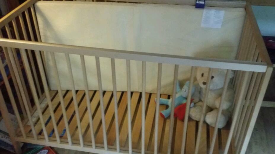 Sniglar ikea cot and mattressin Willowbrae, EdinburghGumtree - Cot and mattress great conditionStill here if you can see this ad )