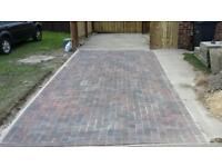 CHEAP BLOCK PAVING ***NEW*** 50MM BRINDLE BLOCKS FROM AS LITTLE AS 25 POUNDS PER SQUARE METER
