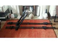 THULE ROOF CYCLE CARRIERS x 2