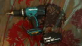 New Makita combi drill and new 5.0ah battery