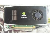 Nvidia Quadro FX 1800 Graphics card