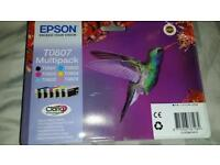 Epson T0807 printer ink