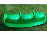 Crocodile rocker/ seesaw