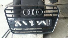 Audi a5 facelift front grille 2012 to 2015