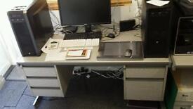Metal Framed Desk 150x75cm