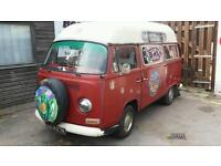 Wv camper early t2 hippy wagon.need tlc