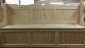 6ft Church pew/Monks Bench Settle Courier available