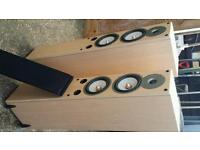 Gale 40 series floor hi fi speakers