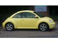 VW Beetle 2.0 2001 long Mot very clean in & out