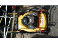 Petrol lawn mowers/ grass strimmers and hedge trimmer