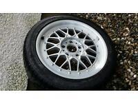 Bbs e36 sport spare wheel