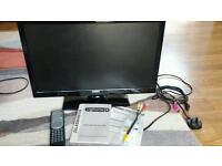 """Digihome 22leddvd132 22"""" full HE remote control built in DVD."""