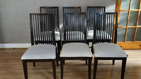 Modern Dining Table & 6 Chairs