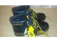 Sequioa size 8 caterpilliar safety boots.