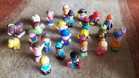 Happy land characters