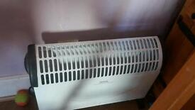 2 x convection heater