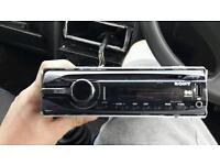 Sony car cd/usb/aux player