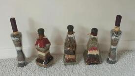 Kitchen decorative bottles